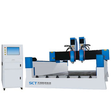 Double Heads Relief Carving Stone CNC Router
