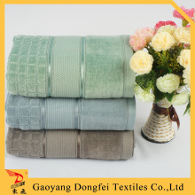 Dobby Border Luxury Hotel Towels