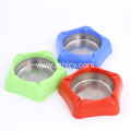 Portable Stainless Steel Colorful Ashtray