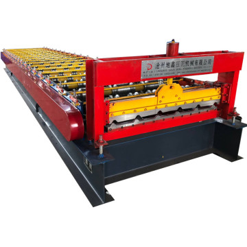 Galvanized Trapezoidal Profile Metal Roofing Machine