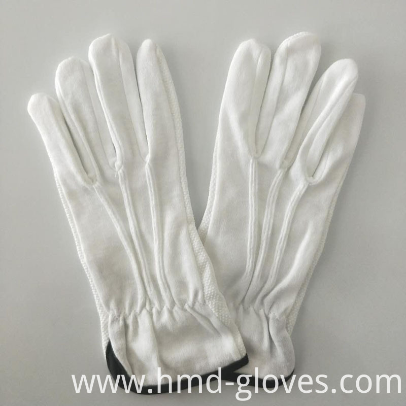 White Sure Cotton Gloves 10