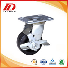 Factory Promotional for China Brake Heavy Duty Caster,Heavy Duty Polyurethane Caster,Heavy Duty Swivel Caster Manufacturer 6 inch heavy duty caster with rubber wheels supply to Colombia Supplier
