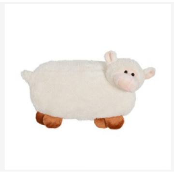 Comfortable plush sheep pillow