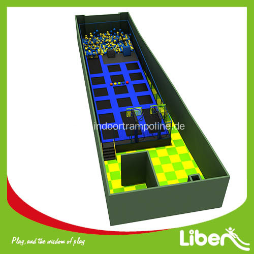 Professional indoor trampoline park for birthday party