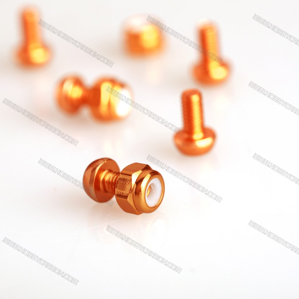 Customzid Colorful Aluminum Round Screw