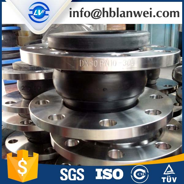 single sphere Flexible Rubber Expansion Joint