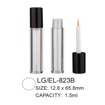 Round Empty Cosmetic Lip Gloss/Eyeliner Packaging