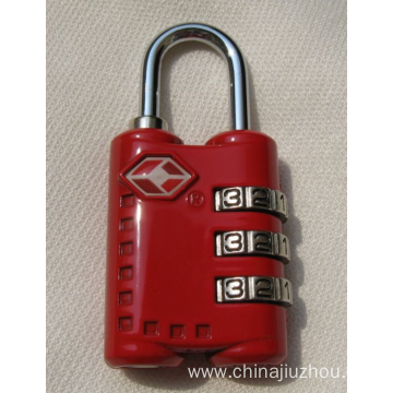 China for Tsa Combination Lock,Travel Luggage Lock Leading Manufacturer and Supplier New Design TSA Combination Travel Luggage Suitcase Lock  supply to Turkmenistan Suppliers