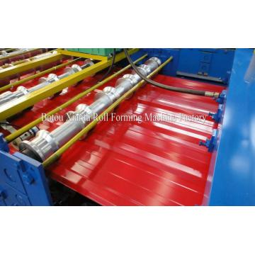 Trapezoidal Iron Roofing Roll Forming Machine