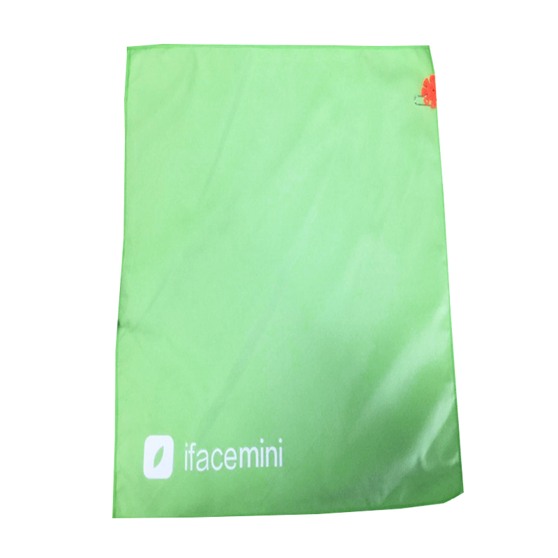 40 x 70 microfiber suede beach towel green