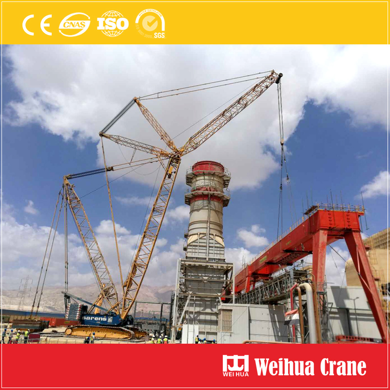 Power Plant Gantry Crane Installation