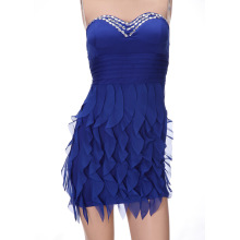 Factory directly sale for New Waterproof Watch nightclub wave flounce dress etiquette export to China Macau Suppliers