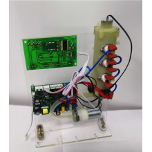 Target temperature and volume heating test module