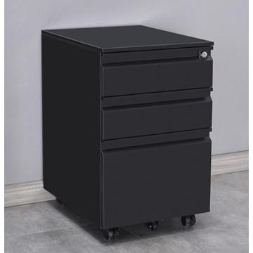 3 Drawer Steel Mobile Pedestal Cabinet
