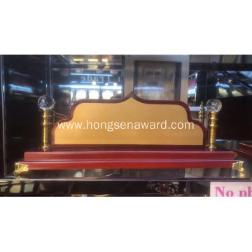 Wooden Desk Name DN-7
