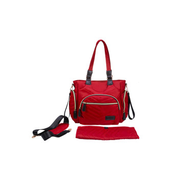 Red Baby Diaper Bag