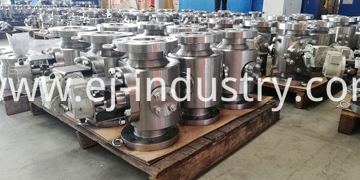 forged top entry ball valve