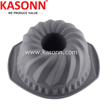 실리콘 그립 Bundt Cake Pan with Grips