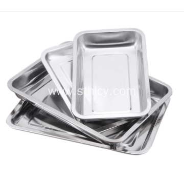 304Exquisite Square Stainless Steel Bake Ware