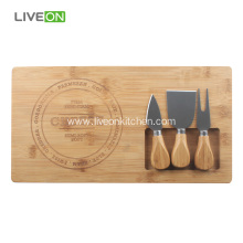 Bamboo Board Cheese Knife Set