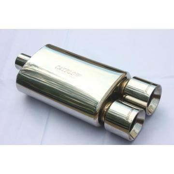 "Stainless 8.5"" Oval Exhaust Muffler"