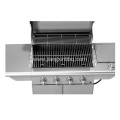 Stainless Steel Propane Gas BBQ With 4 Burners