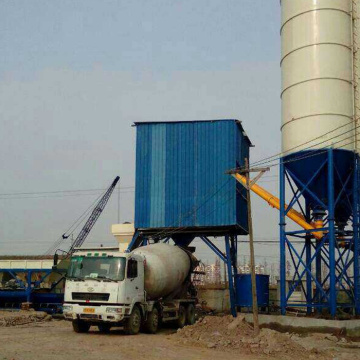 HZS35 mini precast concrete batching plant Singapore