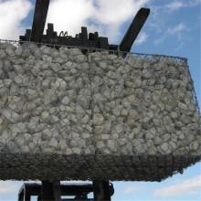 China New Product for Supply Hexagonal Mesh Gabion Box, Extra-Safe Storm & Flood Barrier, Woven Gabion Baskets from China Supplier Hot Dipped Galvanized Gabion Basket export to Reunion Supplier