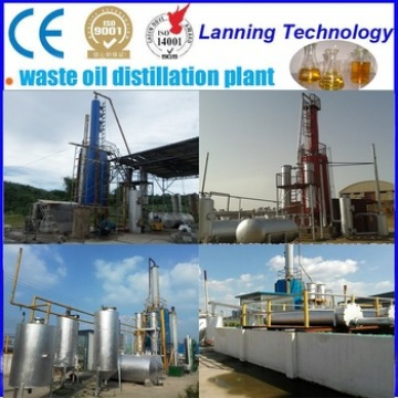 new technology processing waste oil to diesel