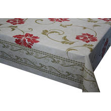 Pvc Printed fitted table covers 240cm