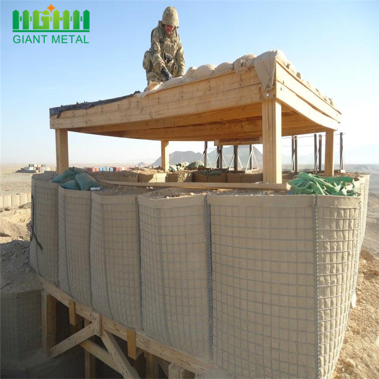Military Wall Hesco Barriers For Defensive