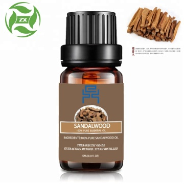 pure natural healthy sandalwood essential oil
