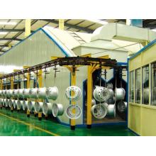 China for Metal Product Painting Line automatic electrostatic spray painting line export to Bahamas Suppliers