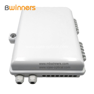 Outdoor/Indoor Ftth 16 Core Fiber Optic Termination Box/Ftth Distribution Box