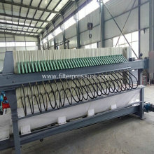 Chemical Wastewater Sludge Dewatering Filter Press