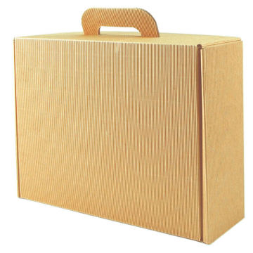 wholesale mini corrugated suitcase gift box