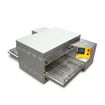 Conveyor and commercial pizza oven