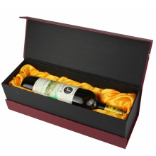 Custom Book Shaped Single Bottle Wine Gift Box