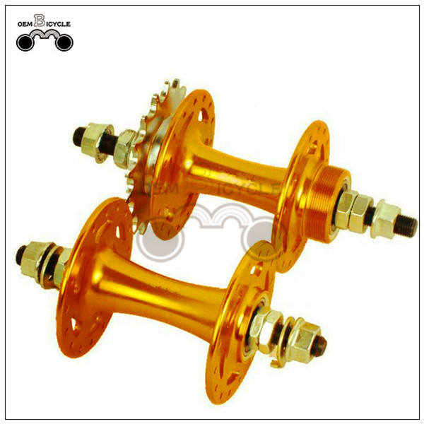 fixed gear bike aluminum alloy color hub4