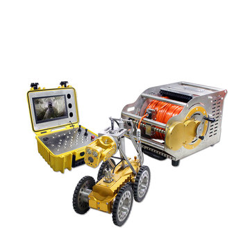 Sewer Drain Pipe Crawler Sewer Inspection Robot