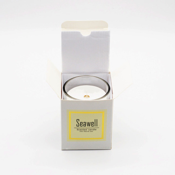 aromatherapy soy wax soy candle in crystal jar