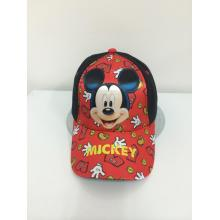 Free sample for for Adult Plain Baseballcap Polyester Sublimation  Mickey Baseball Cap supply to Aruba Manufacturer