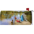 Custom Magnetic RIVER DOCK Mailbox Cover