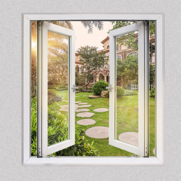 Lingyin Construction Materials Ltd Best price for aluminium double glass Casement Window