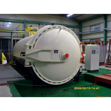 Automatic Glass Laminating Autoclave With PLC Controller