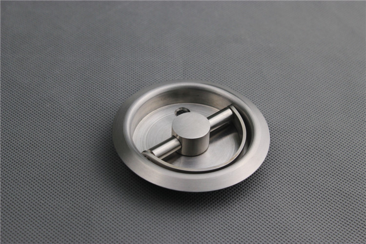 Round Recessed Cup Handle