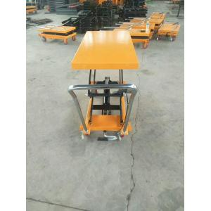 500kg High Quality Workshop Folded Platform Luggage Handcart