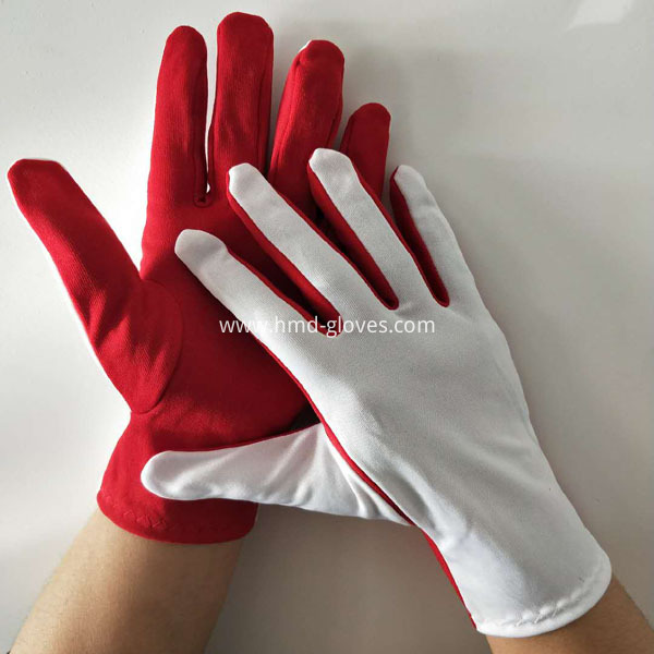 Flash Gloves Red and White