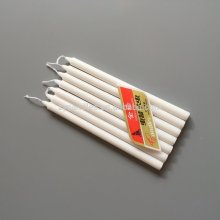 Long Burning White Stick Decorative Velas Candle