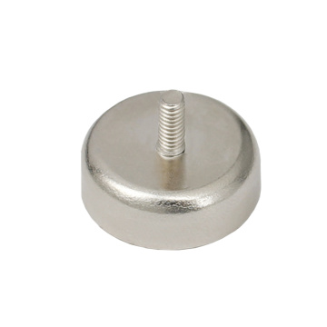 RPM-C32 Outside Thread Rod Round Base Magnet holder